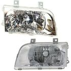Headlight Set For 98-2002 Kia Sportage Left and Right With Bulb 2Pc