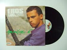 Eros Ramazzotti – Musica È - Disco Vinile 33 Giri LP Album Stampa ITALIA 1988