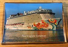 NCL Norwegian Getaway Large Fridge Magnet Cruise Ship