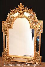 Gilt Pier Mirror - George II Glass Carved Frame