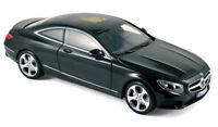 NOREV 1/18 2014 Mercedes Benz S Class Coupe Diecast Model Car Black (183482)