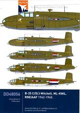 Dutch Decals 1/48 B-25 MITCHELL ROYAL NETHERLANDS EAST INDIES AIR FORCE