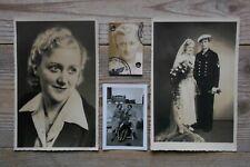 Hamburg Altona Hübsche Frau 1939/41 Kriegsmarine Original Fotos Foto Postkarten