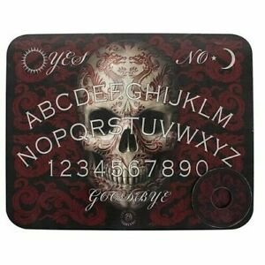 Wooden Ouija Board game & Planchette with instruction. Spirit hunt Bizarre Ghost
