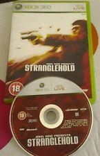 John Woo Presents STRANGLEHOLD  - 2007 - GAME FOR XBOX 360 - 18+