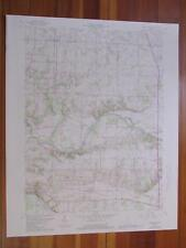 Twelve Mile Indiana 1987 Original Vintage Usgs Topo Map