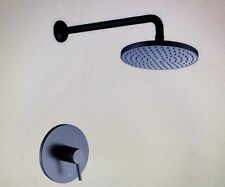 Luxier 1-Spray Shower Faucet with Valve Oil Rubbed Bronze SS-B01-TO-V