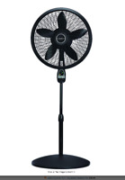 3-Speed Oscillating Pedestal Fan With Remote Control 18 Inch Adjustable Height