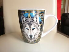 Wolfs Head China Mug Designed By Lisa Parker Pagan Wicca Comes In A Gift Box