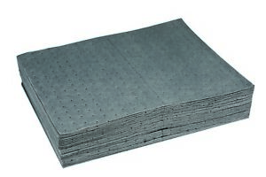 """US Universal Oil Absorbent Heavy Weight Mat Pads New Pig Alike 20""""x15"""" 100 Pads"""