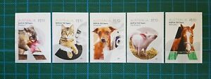 AUSTRALIA - 2021 150 YEARS RSPCA SET OF 5 S/A  MNH *FREE POSTAGE* SHIPS NOW!