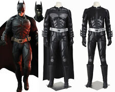 Batman The Dark Knight Rises Black Batman Cosplay Costume Custom Made