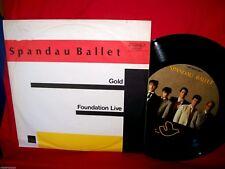 "SPANDAU BALLET Gold LP 1983 AUSTRALIA only Limited Edition 12"" Single 45rpm"