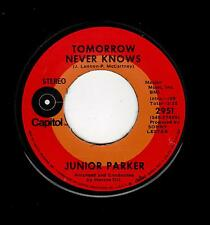 NORTHERN/FUNK/BLUES-JUNIOR PARKER-CAPITOL 2951-TOMORROW NEVER KNOWS/LADY MADONNA