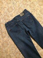 Volcom Women's Designer Blue Jeans Size 1 Boot Cut Western Denim Street Wear
