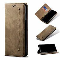 Handyhülle für Samsung Galaxy A72 5G Schutztasche Case Cover Klapptasche Braun