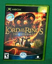 X-BOX VIDEO GAME THE LORD OF THE RINGS - USED IN VERY GOOD CONDITION 2004