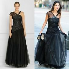 BCBG Max Azria Black lace prom/Homecoming dress/evening gown Size: 0
