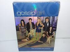 Gossip Girl: Season 3 (DVD, Canadian, 5-Disc Set) NEW - Extras - No Tax