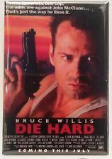 """Die Hard MAGNET 2""""x3"""" Refrigerator Locker Movie Poster Image 2"""