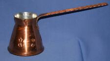 Vintage Hand Made Copper Turkish Coffee Pot