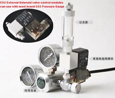 Aquarium Co2 pressure gauge Regulator Solenoid Two Gauge & Bubble Counter