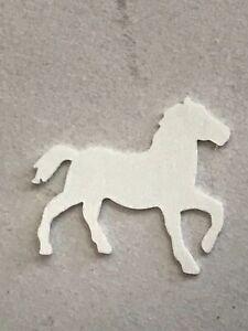 Dancing Horse Confetti, Black, White, Silver, Gold, Purple, Blue