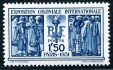 FRANKREICH 1930 262 ** POSTFRISCH TADELLOS KOLONIALAUSSTELLUNG 65€(I2174