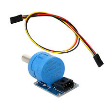 3590S-2-103L 10K Ohm Multi-turn wirewound potentiometer module & jumper wire