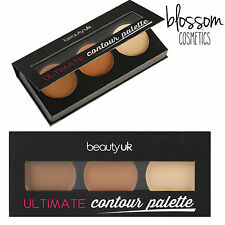 Beauty UK Ultimate Contour Palette Makeup Bronzing Bontouring Highlighting Kit