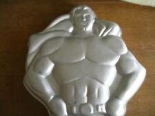 Rare Wilton Cake Bake Oven Pan Superman Dc Comic Super Hero Birthday Party Jello