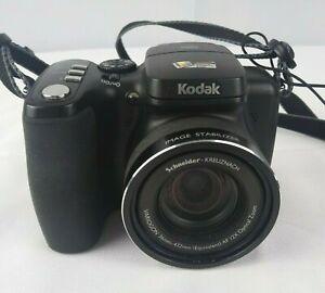 Kodak EasyShare Z812 IS 8.1MP Digital Camera - Black (TESTED) CAMERA ONLY