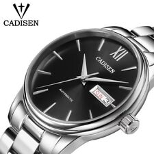 11.11 CADISEN Men Automatic Mechanical Watches Time Module Seiko NH36A Movement