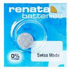 Renata Pila Batteria Orologio Mercury Free Silver Oxide Swiss Swatch Group 1.55V