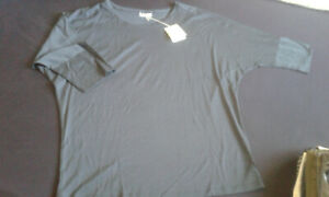 Schiesser  Revival  Shirt  1/2 Arm  Gr.36 (S) oversized   feinste BW blau  neu