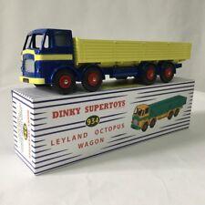 1:43 Atlas Dinky Toys DINKY SUPERTOYS 934 LEYLAND OCTOPUS WAGON FLAT TRUCK MODEL