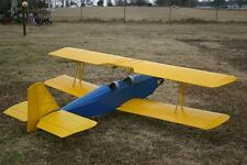 Giant Scale Super  Lazy Ace Biplane 96 inch WS RC AIrplane Printed Plans