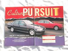 BMW M5 Holden Commodore HSV Senator 5000i Article Removed from a Magazine
