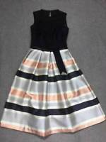 New Ted Baker Rowwan Jacquard Top Full Skirt Dress TB60 Sz 2,3,4,5
