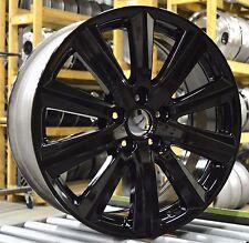 "19"" Acura MDX 2014 2015 2016 Factory OEM Rim Wheel 71822 Gloss Black Set"