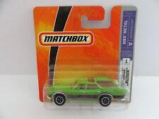 Matchbox Superfast '71 Oldsmobile Vista Cruiser - Bright Lime Green - Mint/Boxed
