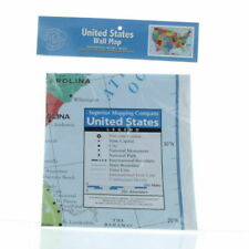 United States Wall Map Home School Office