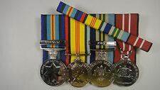 Set of 4 Vietnam medals + Ribbon Bar