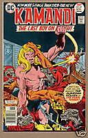 KAMANDI, LAST BOY ON EARTH #47, DC Comics 1976, VF-