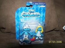 The Smurfs Movie Collectible 2 Figure Pack - NEW!