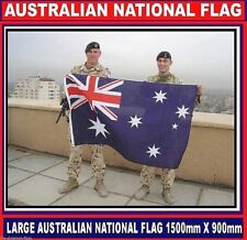 Australian flag Aussie flag Australia flag for sport or ANZAC + Free Sticker