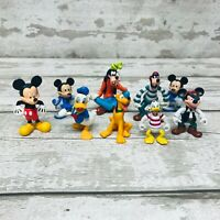 Disney Mickey Mouse And Friends Mini Figures Toys Cake Toppers Bundle Goofy