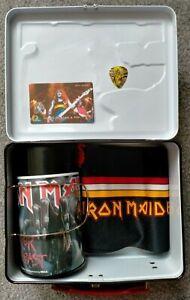 Iron Maiden Job Lot - Lunchbox & Mug, Virtual XI Scarf 1998, US Phonecard, Pick