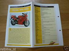 LM12- HONDA VFR800I INFO MOTORCYCLE,MOTORRAD,MOTORFIETS