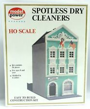 NEW Vintage Model Power HO SPOTLESS DRY CLEANERS Model Kit #546 *Ships Quick*